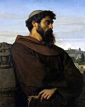 The Roman Monk By Alexandre Cabanel