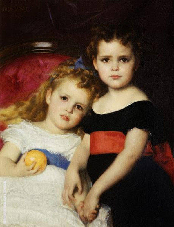 The Sutton Sisters Painting By Alexandre Cabanel - Reproduction Gallery