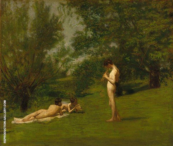 Arcadia 1883 By Thomas Eakins