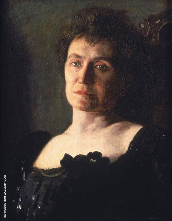 Edith Mahon 1904 Painting By Thomas Eakins - Reproduction Gallery