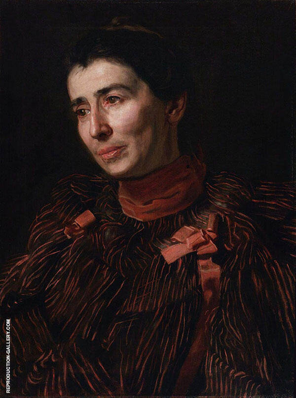 Mary Adeline Williams Painting By Thomas Eakins - Reproduction Gallery