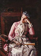 Miss Amelia van Buren By Thomas Eakins