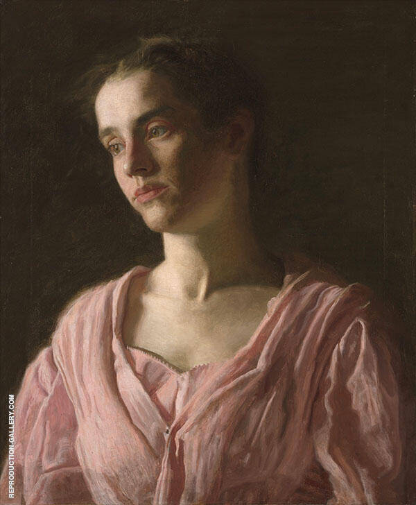 Portrait of Maud Cook 1895 Painting By Thomas Eakins