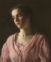 Portrait of Maud Cook 1895 By Thomas Eakins