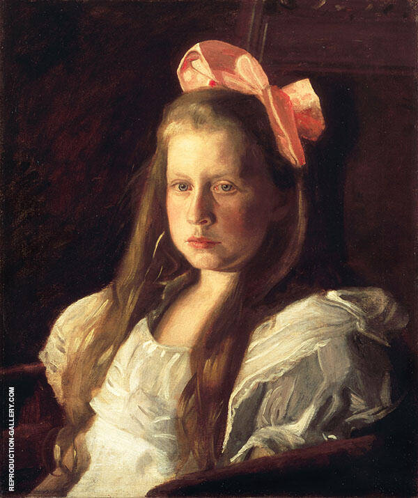 Portrait of Ruth W.Harding 1903 Painting By Thomas Eakins