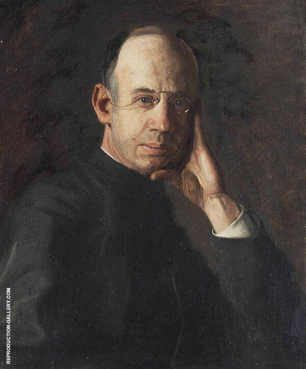Reverend James P Turner Painting By Thomas Eakins - Reproduction Gallery