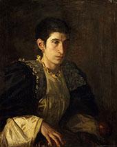 Signora Gomez d'Arza c1901 By Thomas Eakins