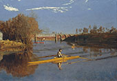 The Champion Single Sculls By Thomas Eakins