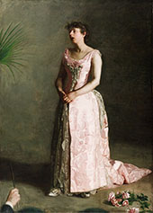 The Concert Singer By Thomas Eakins