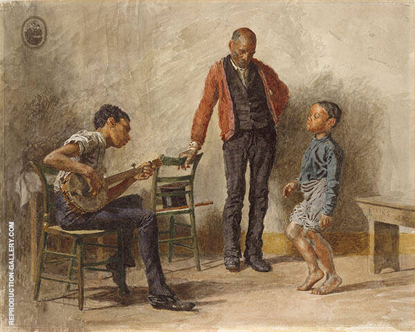 The Dancing Lesson Painting By Thomas Eakins - Reproduction Gallery