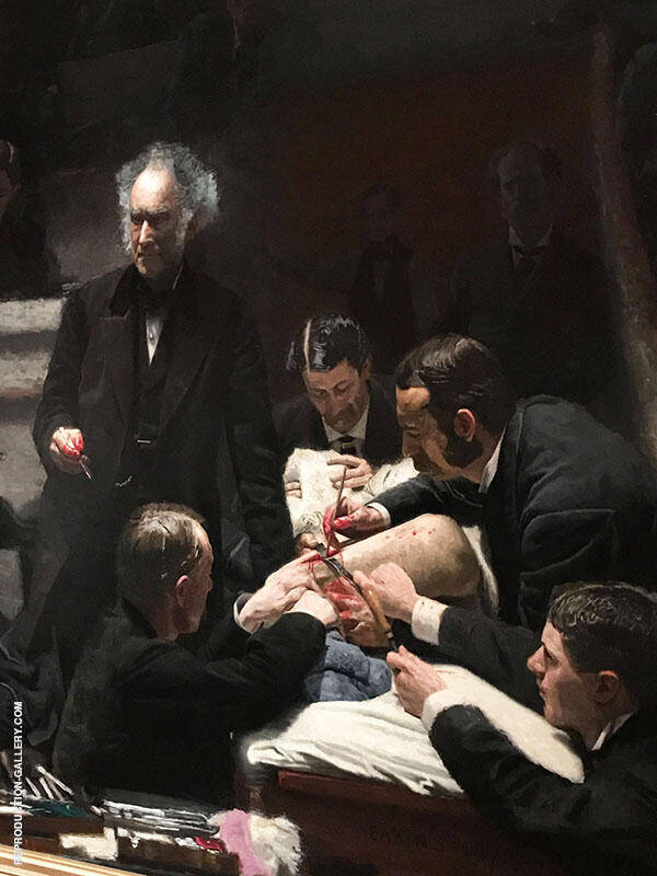 The Gross Clinic Painting By Thomas Eakins - Reproduction Gallery