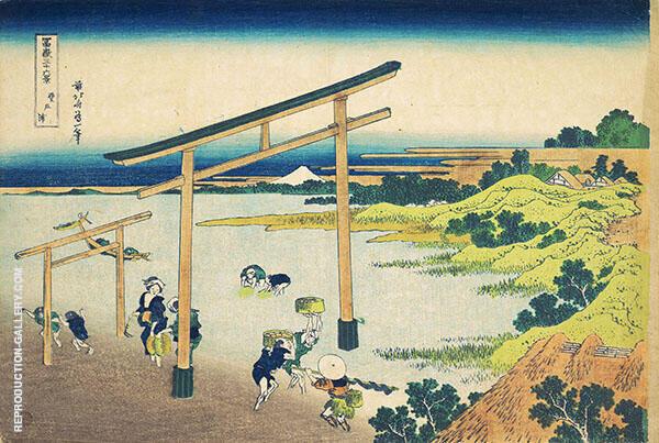 Noboto Bay By Katsushika Hokusai
