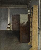Interior Strandgade 30 1905 By Vihelm Hammershoi