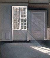 Sunbeams By Vihelm Hammershoi