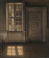 Sunlight on The Floor 1906 By Vihelm Hammershoi