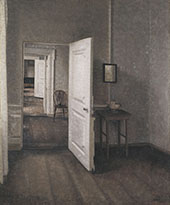 The Four Rooms 1914 By Vihelm Hammershoi