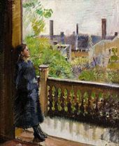 Balcony in Gronnegate By Christian Krohg