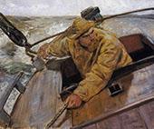 Hard Alee 1882 By Christian Krohg