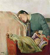 Mother and Child By Christian Krohg