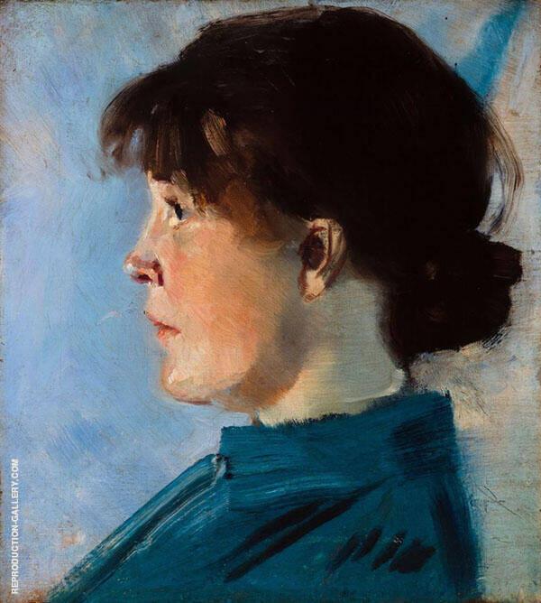 Oda Krohg 1888 By Christian Krohg