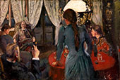 The Evening at Lokken By Christian Krohg