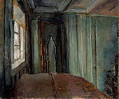 The Green Living Room By Christian Krohg
