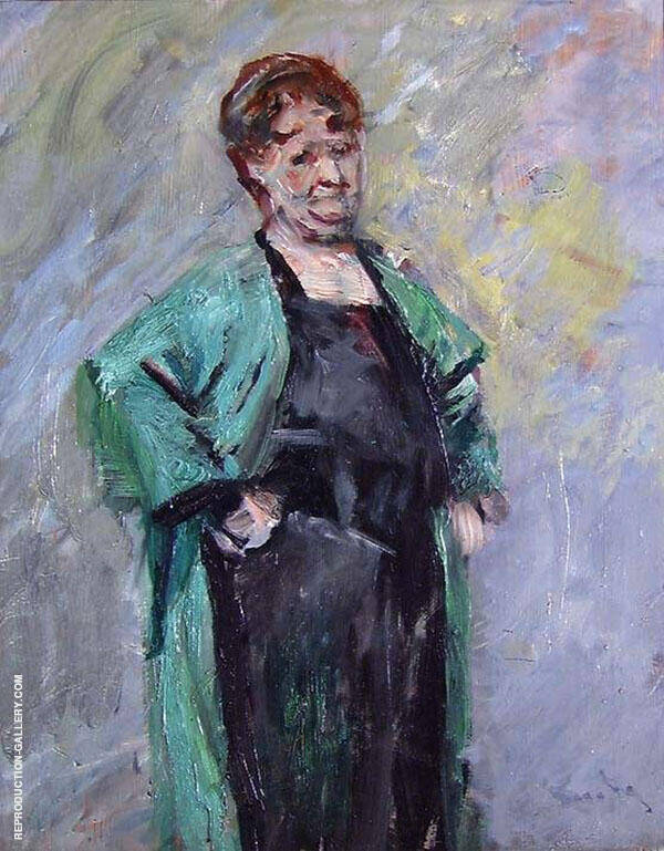 The Painter Marie Hauge Painting By Christian Krohg - Reproduction Gallery
