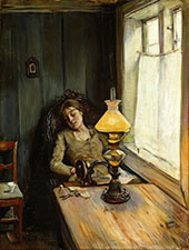 Tired By Christian Krohg