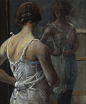 Toilet 2 By Christian Krohg