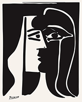 The Kiss 1979 By Pablo Picasso