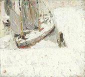 Harbour Under Snow 1908 By Gustave De Smet
