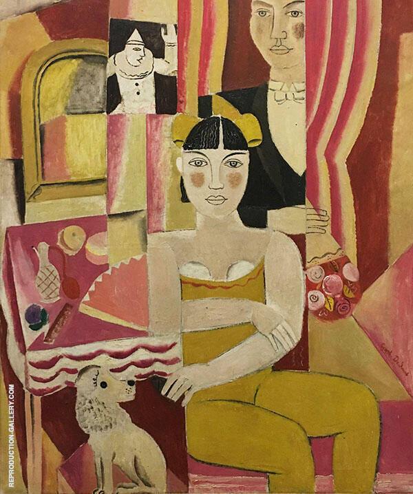 La Moge 1928 By Gustave De Smet