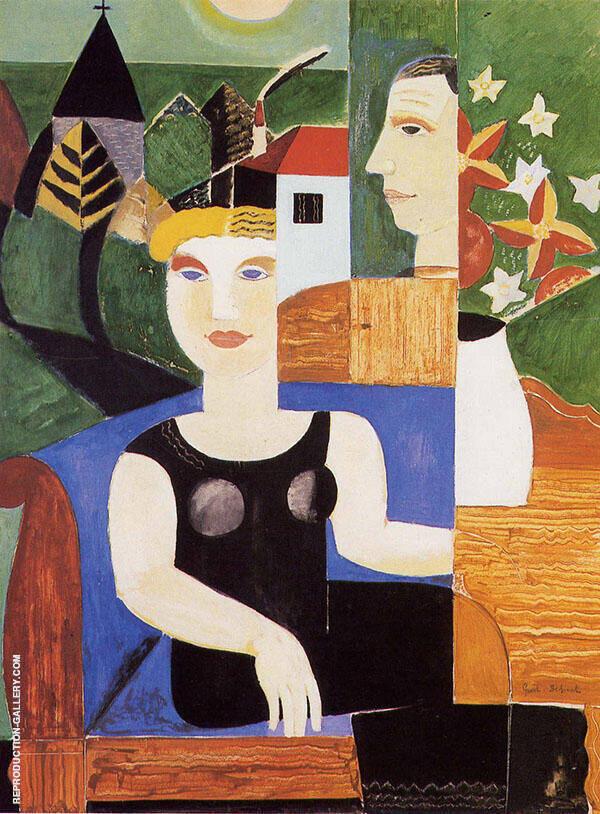 L'artiste et sa Femme 1927 By Gustave De Smet