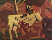 La Vie Du Ferme By Gustave De Smet