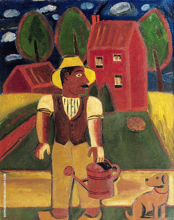 Le Jardinier 1929 By Gustave De Smet