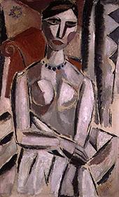 Portrait of a Woman 1919 By Gustave De Smet