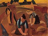 Potato Harvest By Gustave De Smet