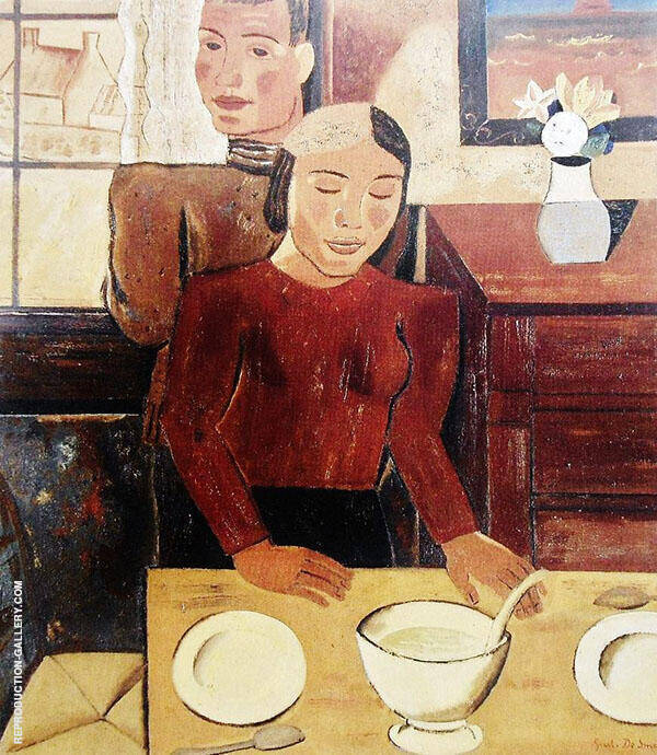 The Soup By Gustave De Smet