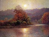 Closing of An Autumn Day By John Ottis Adams