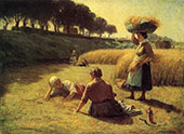 Gleaners at Rest 1896 By John Ottis Adams
