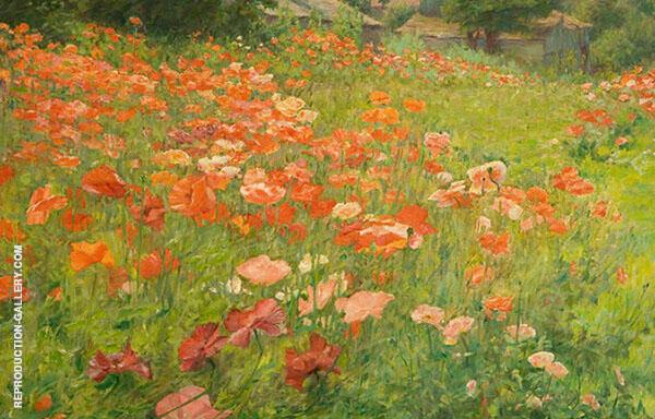 In Poppyland By John Ottis Adams