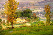 In The Whitewater Valley By John Ottis Adams