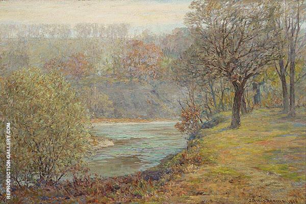 Late Autumn By John Ottis Adams