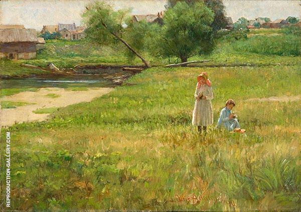 Summertime 1890 By John Ottis Adams