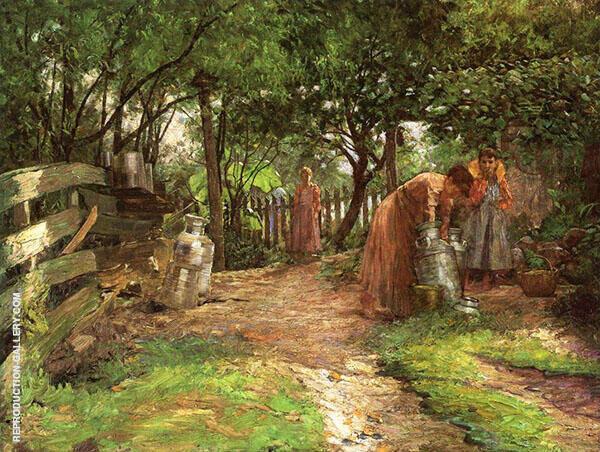 The Farm Prarie Dell By John Ottis Adams