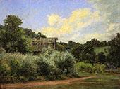 The Grist Mill By John Ottis Adams