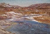 The Wane of Winter By John Ottis Adams