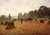Wheat Wain Afield By John Ottis Adams