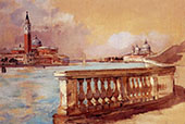 Grand Canal in Venice 1883 By Frank Duveneck
