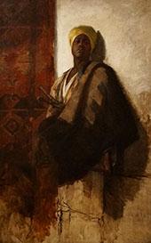 Guard of The Harem c1880 By Frank Duveneck